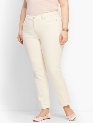Plus Size Denim Slim Ankle Jean - Color