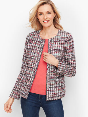 Adele Tweed Jacket