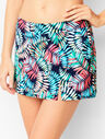 Miraclesuit® Vented Swim Skirt - Breezy Palms