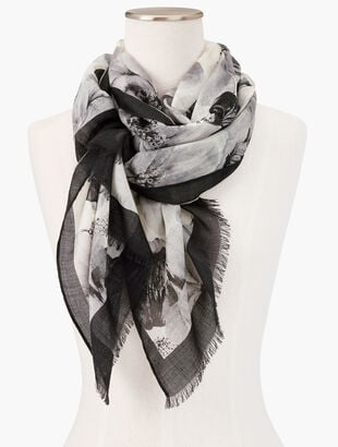Quince Floral Scarf