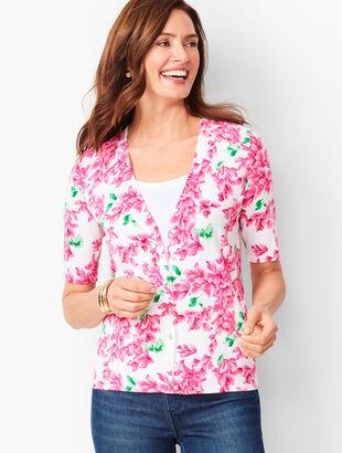 Kelly Cardigan - Summer Blossoms