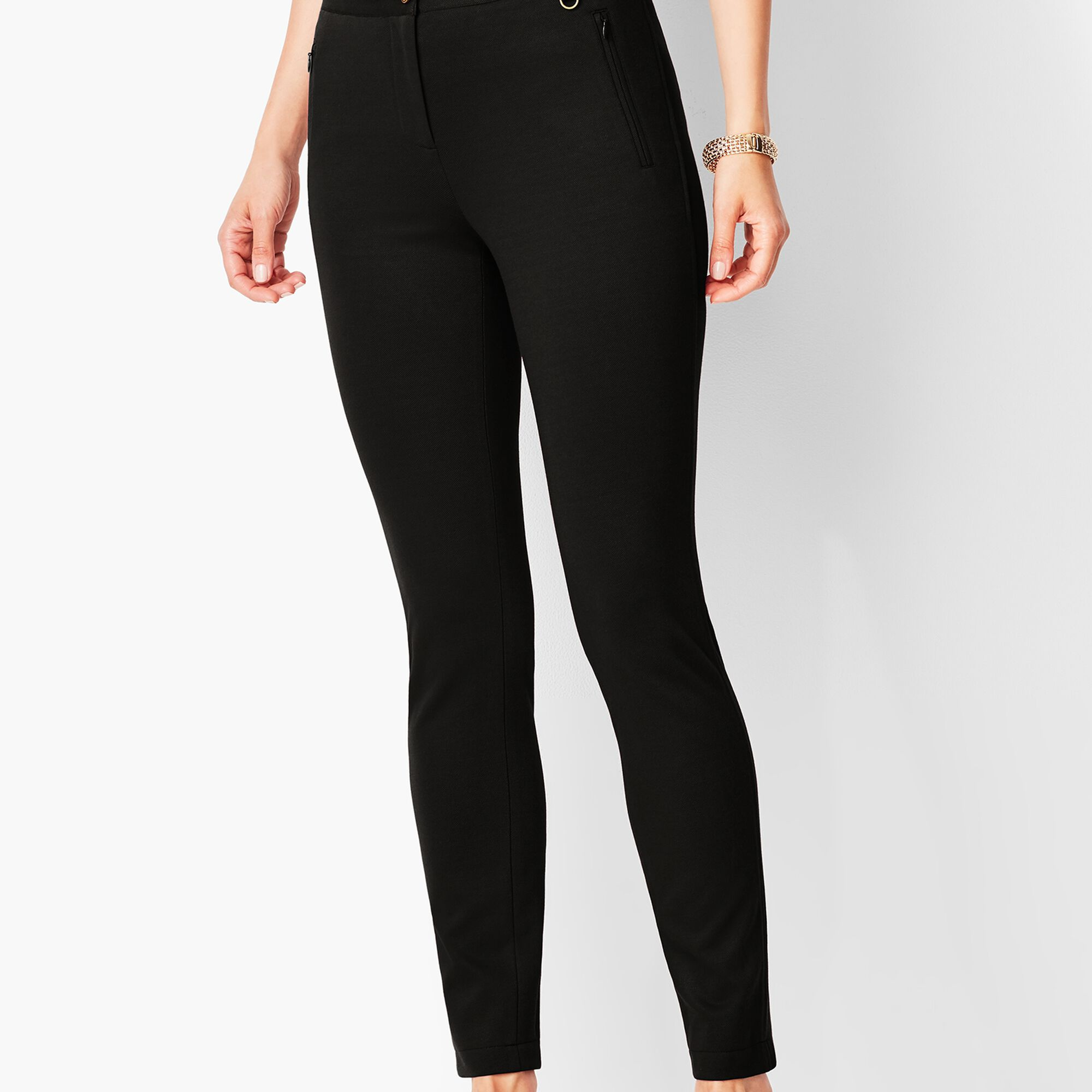 9a7e1d019c28f Textured Ponte Leggings Opens a New Window.