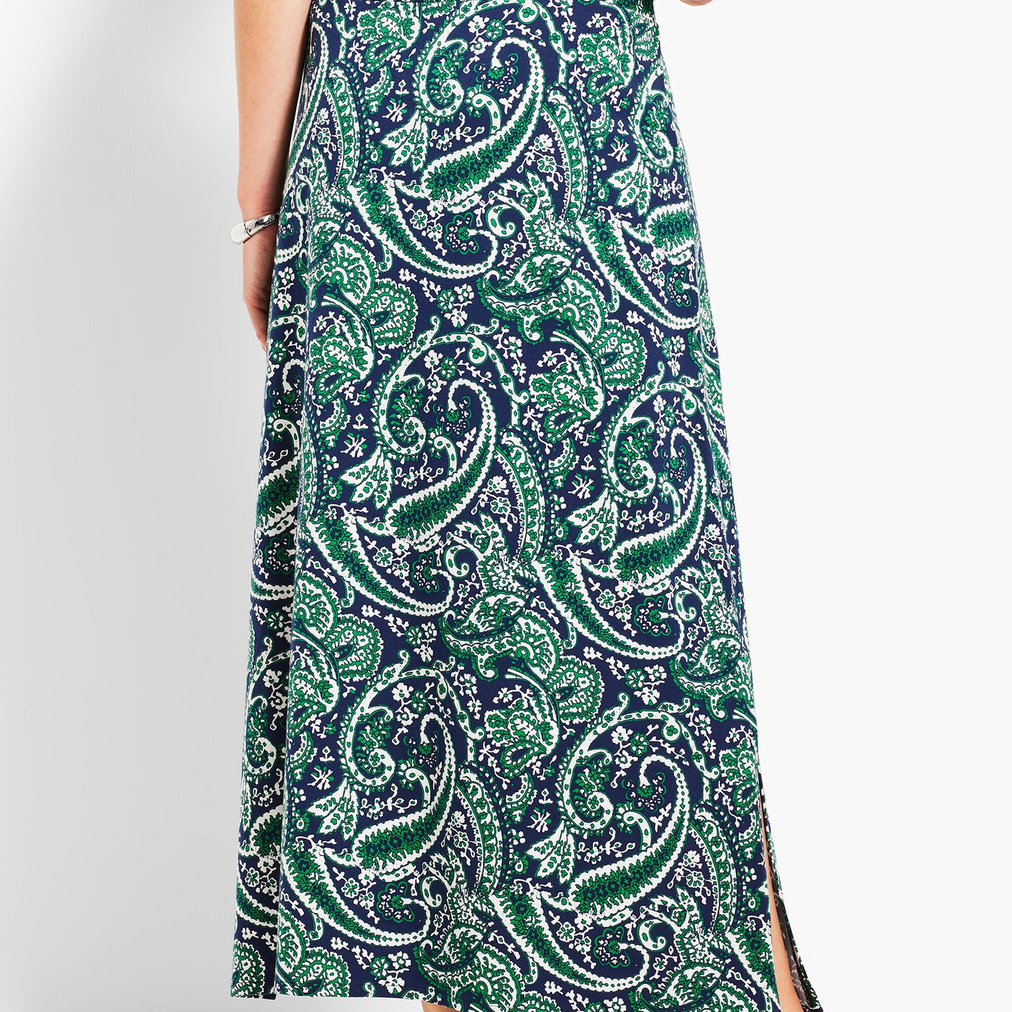 6cbc526dcf Paisley Print Maxi Skirt Opens a New Window.