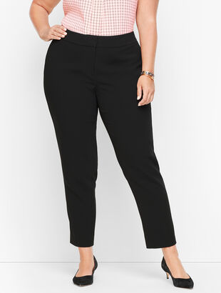 Easy Travel Collection - Plus Size Ankle Pants