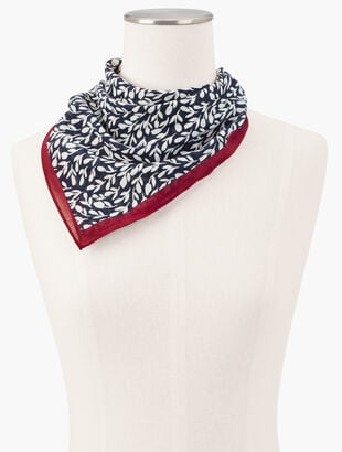 Cotton Floral Neckerchief