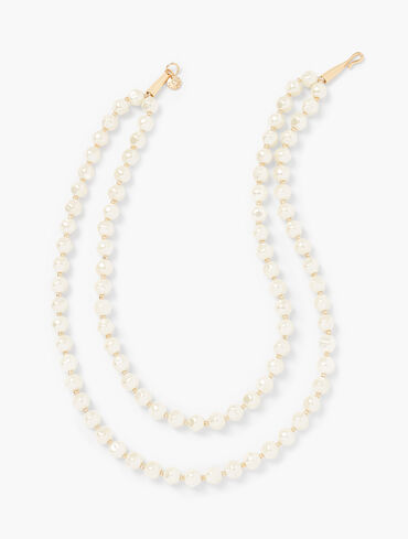 Double Strand Classic Pearl Necklace