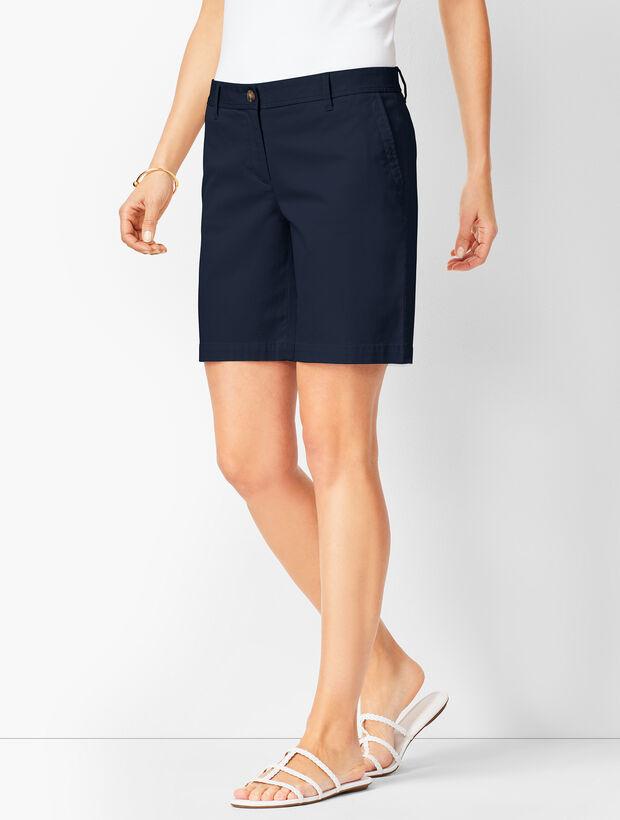 Girlfriend Chino Shorts - Solid