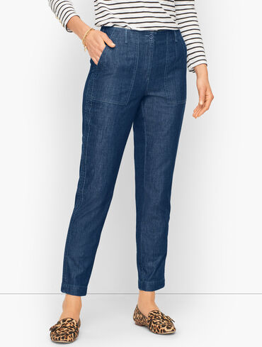 Slim Leg Cargo Pants - Everyday Denim