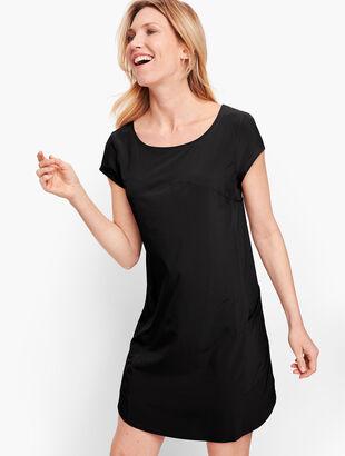 Lightweight Stretch Woven Dress