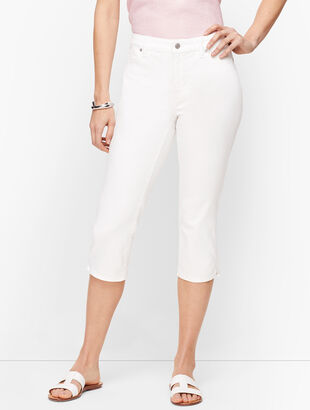 Pedal Pusher Jeans - Curvy Fit
