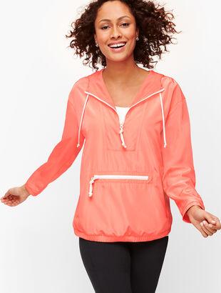 Half Zip Anorak Pullover