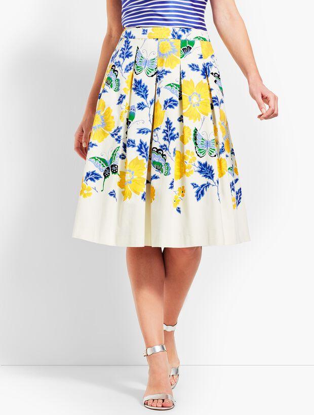 Full Flowered Skirt