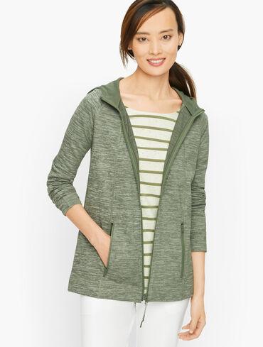 Comfort Plush Hooded Jacket