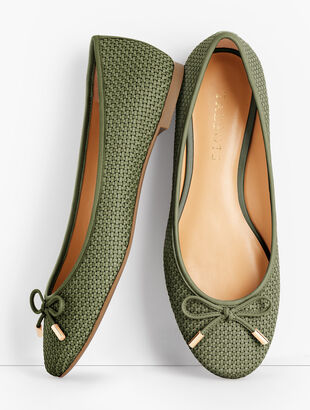 Olympia Textured Flats