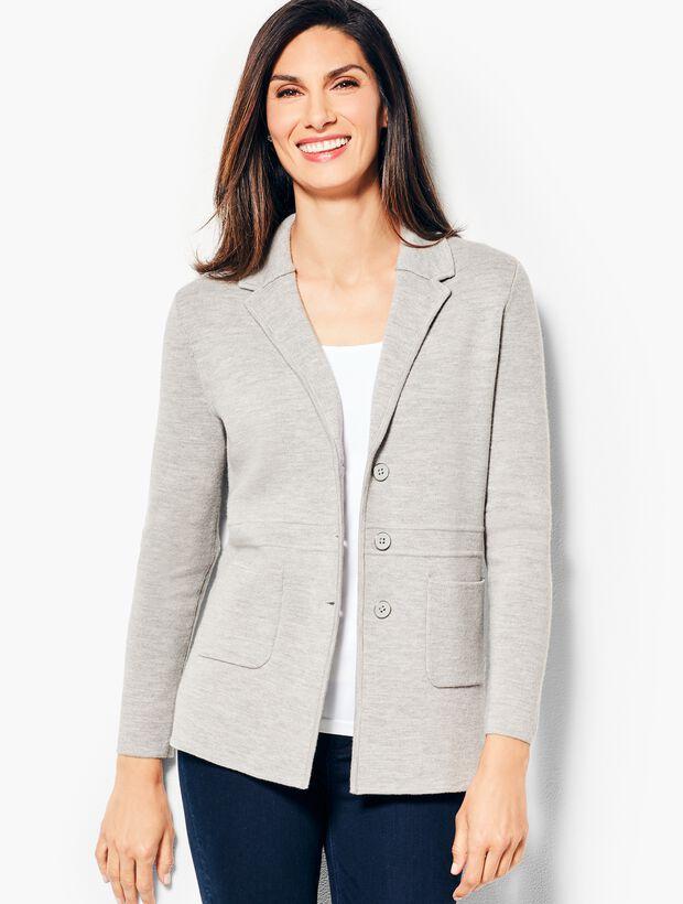 Merino Sweater Jacket