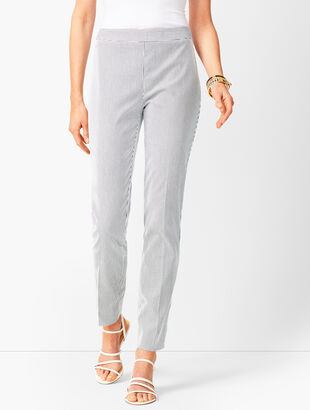 Talbots Chatham Ankle Pants - Stripe