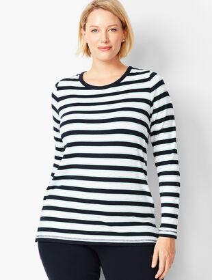 Open-Back Stripe Top