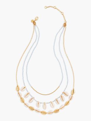 Delicate Seashell Necklace