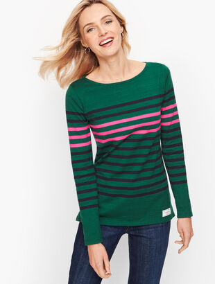 Authentic Talbots Tee - Wonderland Stripe