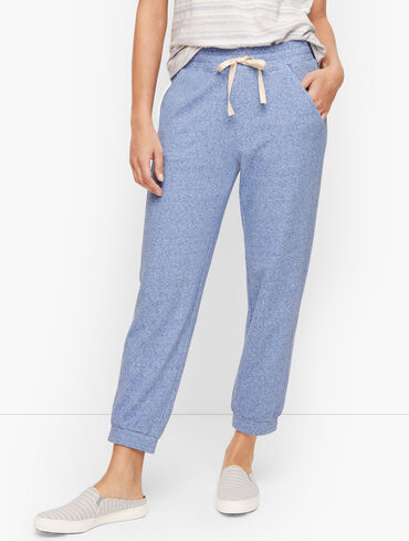 Eventide Terry Cropped Jogger