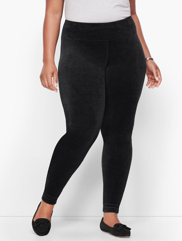 Luxe Velour High Waist Leggings
