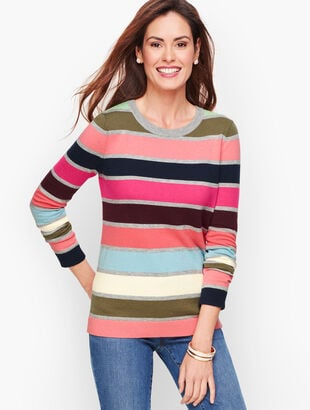 Supersoft Multicolor Stripe Sweater