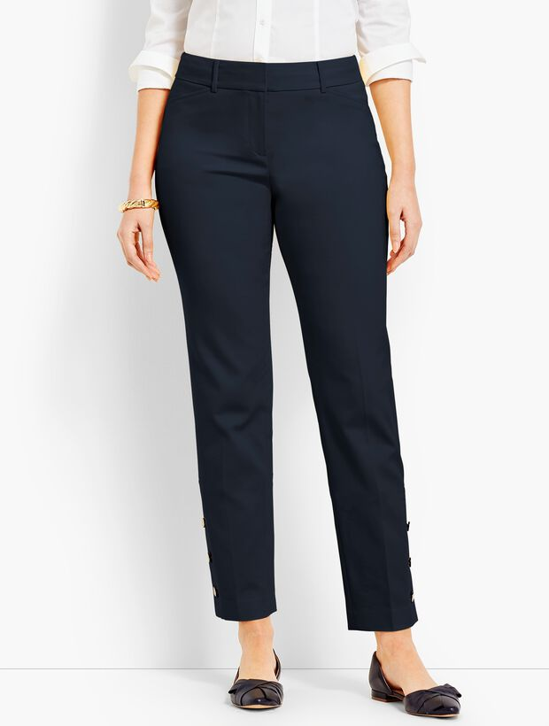 Talbots Hampshire Ankle - Curvy Fit/Button-Cuff