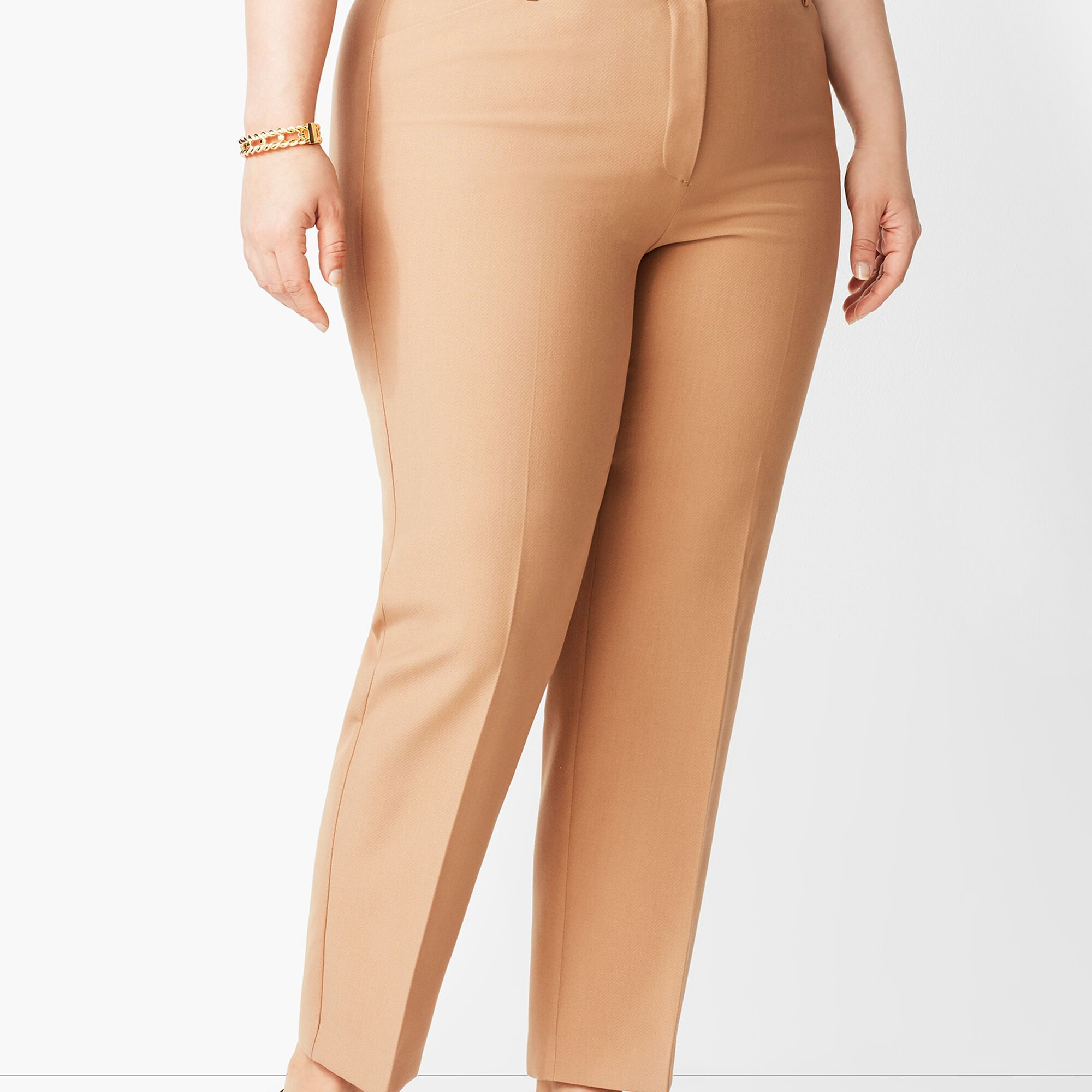 cdf363123b Plus Size High-Waist Tailored Ankle Pant Opens a New Window.