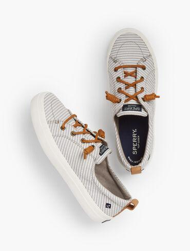 Sperry® Crest Vibe Sneakers - Seersucker