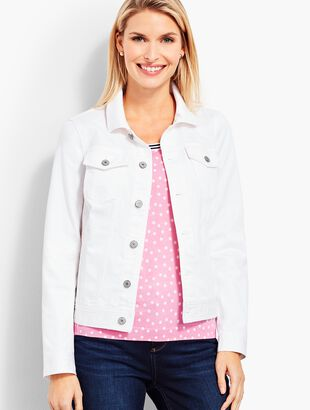 The Classic Jean Jacket-Colored