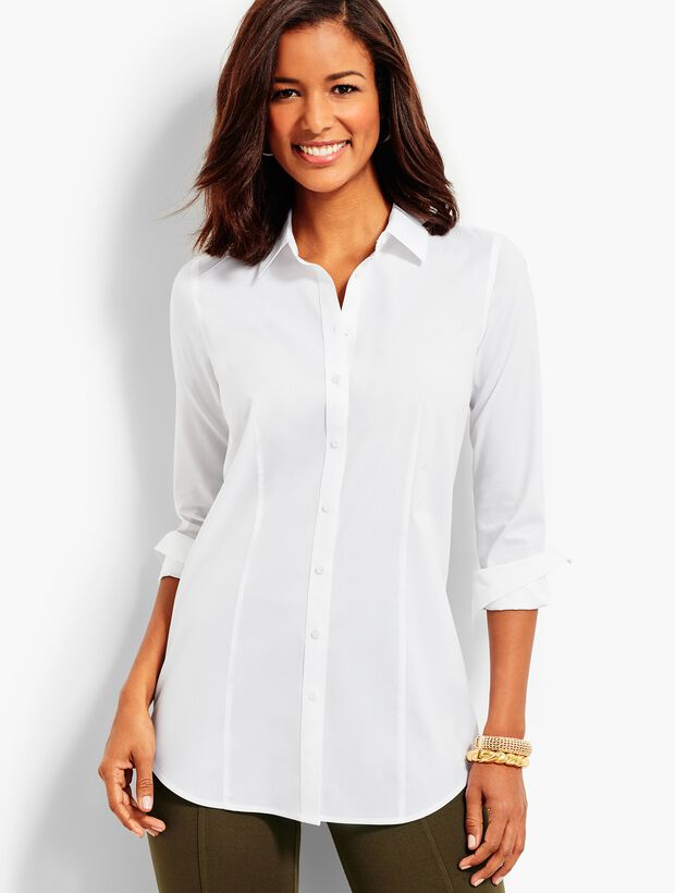 The Longer-Length Long-Sleeve Shirt