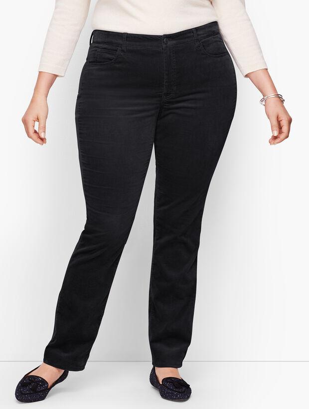Velveteen Straight Leg Pants