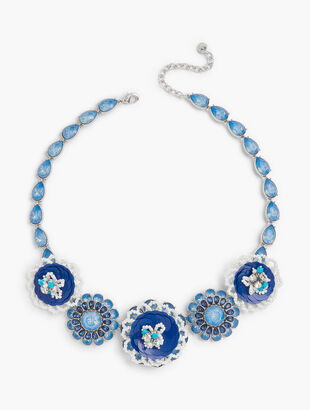 Sequined Statement Necklace