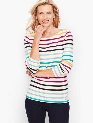 Bowen Stripe Authentic Talbots Tee