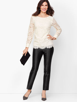 Lace Poet Sleeve Top