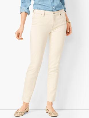 Slim Ankle Jeans - Natural