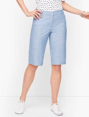 """Perfect Shorts - 13"""" - Newport Chambray"""