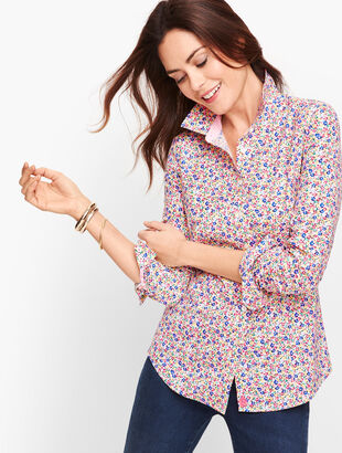 Perfect Shirt - Tossed Floral
