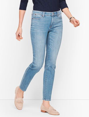Slim Ankle Jeans - Wythe Wash