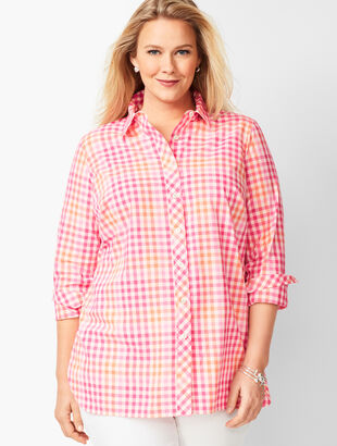 Classic Cotton Shirt - Pop Gingham