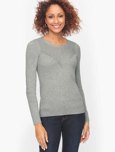 Rib Trim Pullover