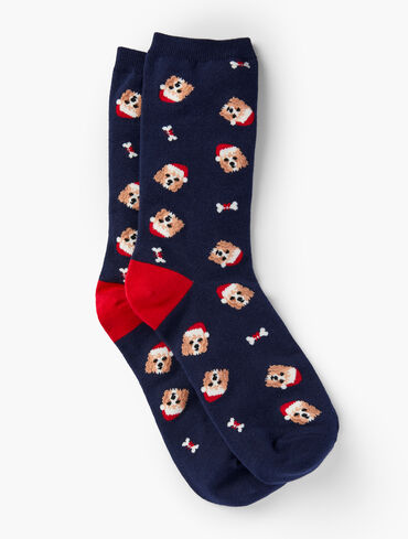 Happy Howlidays Trouser Socks