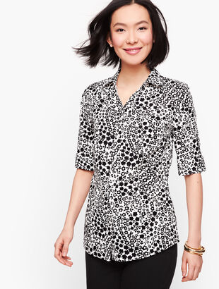 Perfect Shirt - Elbow Length Sleeves - Floral
