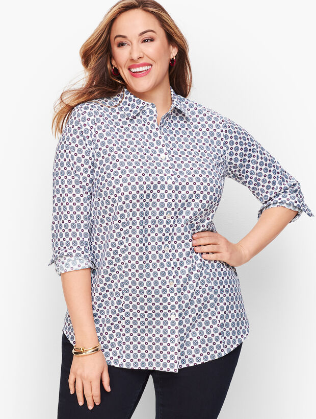 Perfect Shirt - Geo Hearts