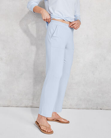 Modal French Terry Cropped Pants