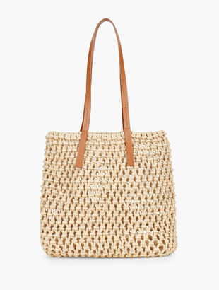 Cotton Crochet Tote