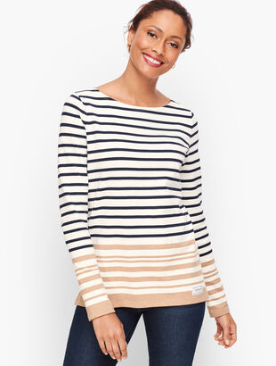 Authentic Talbots Tee - Eastbrook Stripe