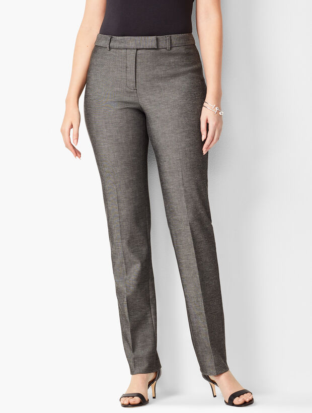 Modern Bi-Stretch Pant - Curvy Fit - Sharkskin