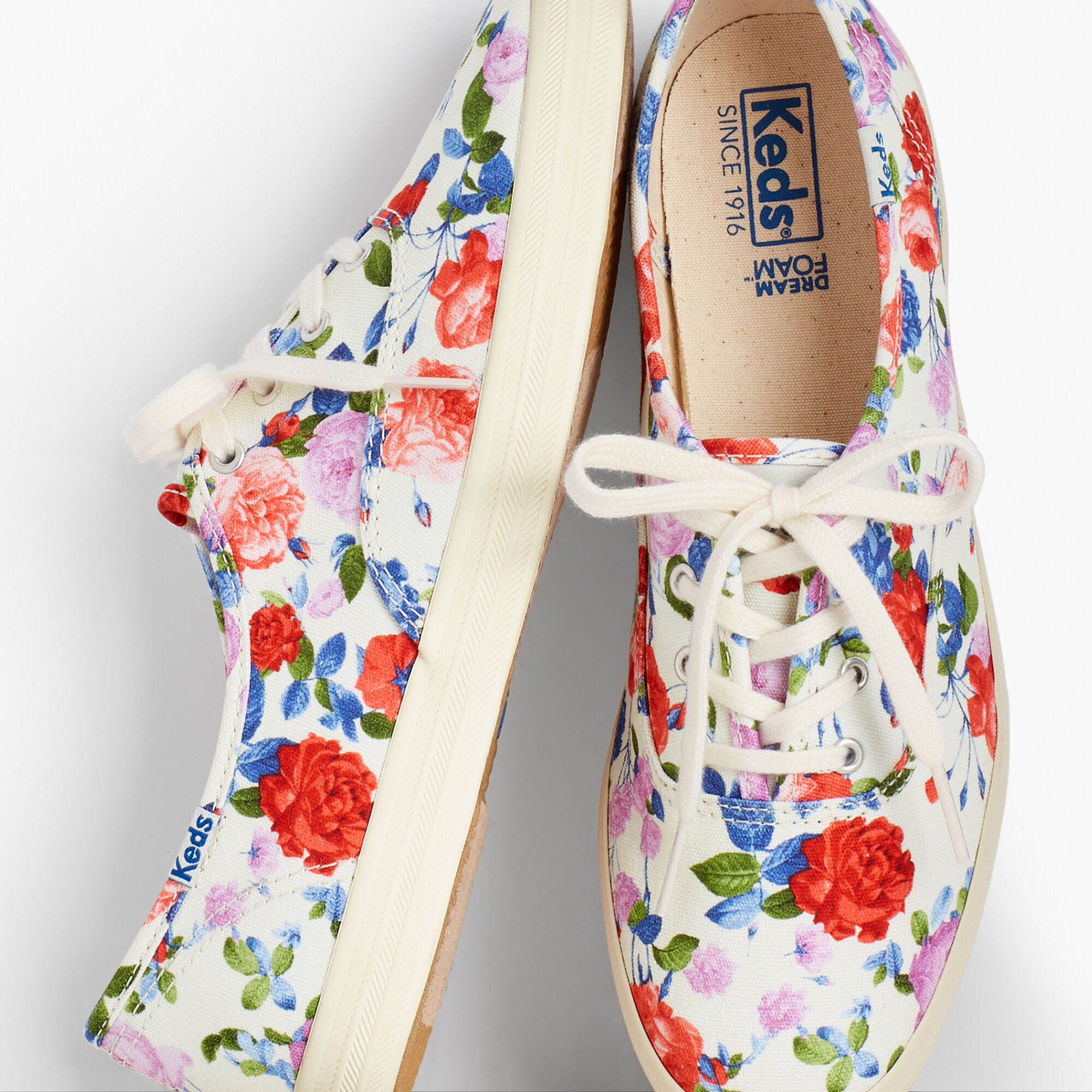 1609b3339ce Keds(TM) Champion Sneakers - Talbots Floral Exclusive