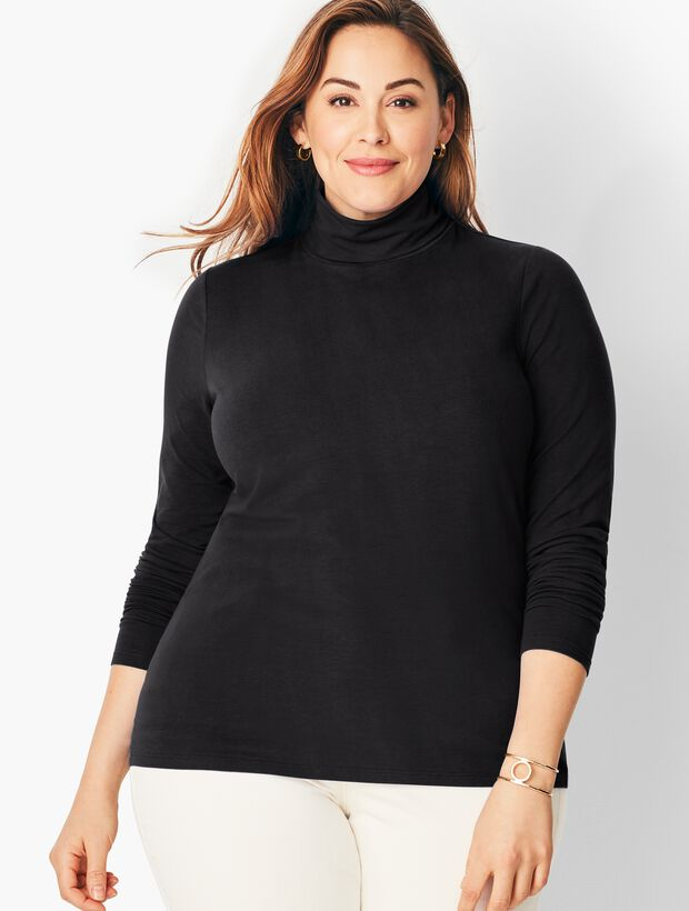 Long-Sleeve Turtleneck